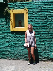 The colorful neighborhood of La Boca