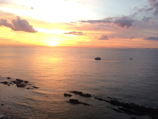 Sunset view from Casa Pueblo